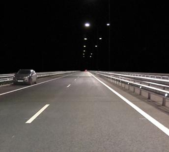 Освещение трассы М11
